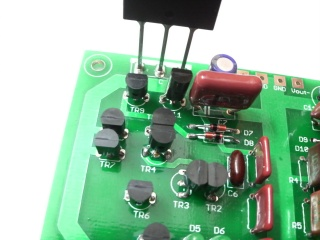 Differential Amp Regulator